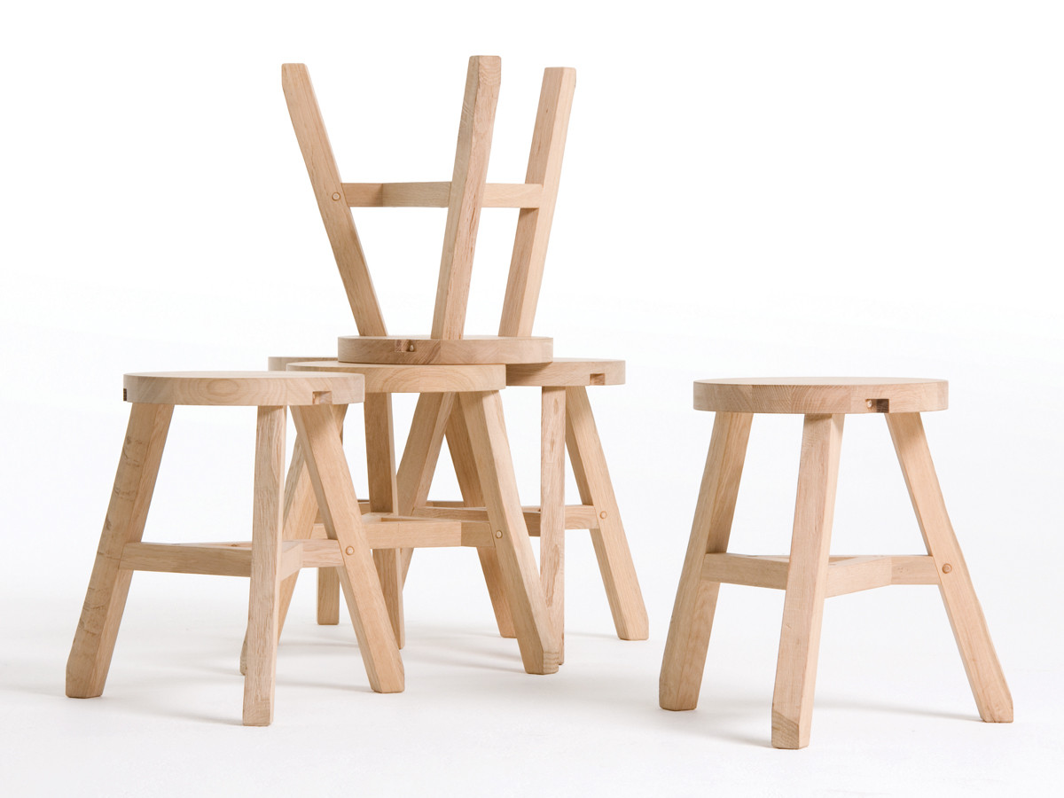 Buy The Tom Dixon Offcut Stool At Nest Co Uk