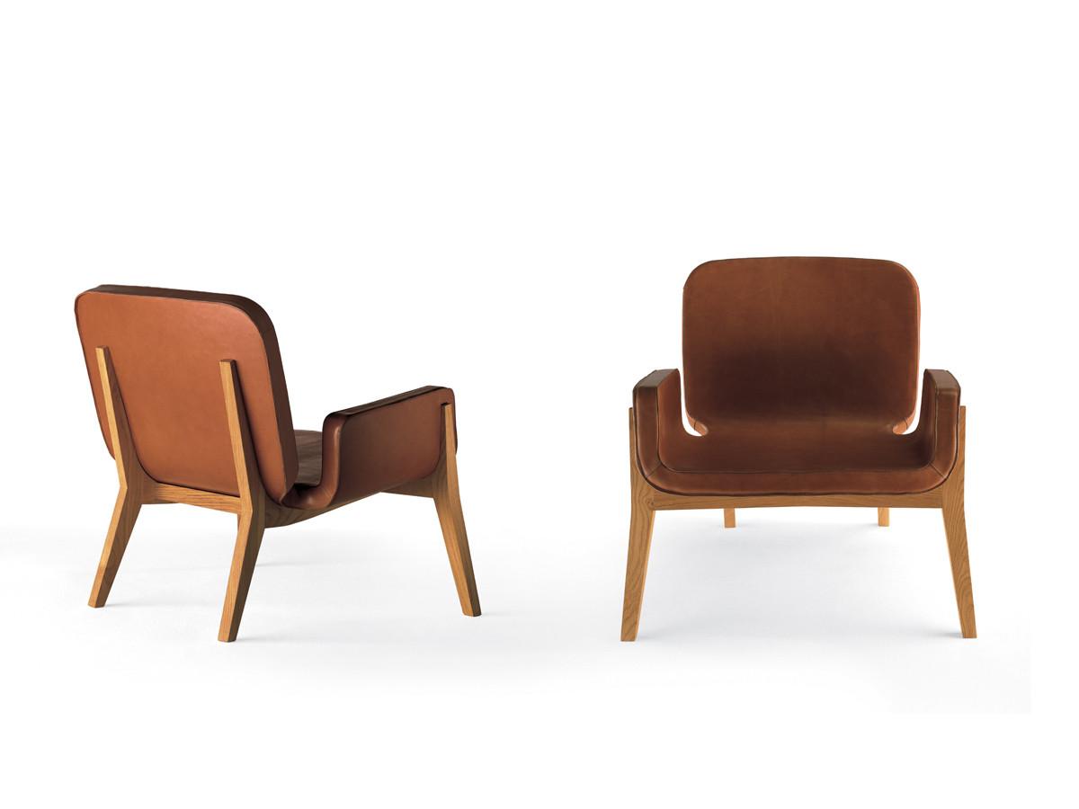 buy the poltrona frau jockey armchair at. Black Bedroom Furniture Sets. Home Design Ideas