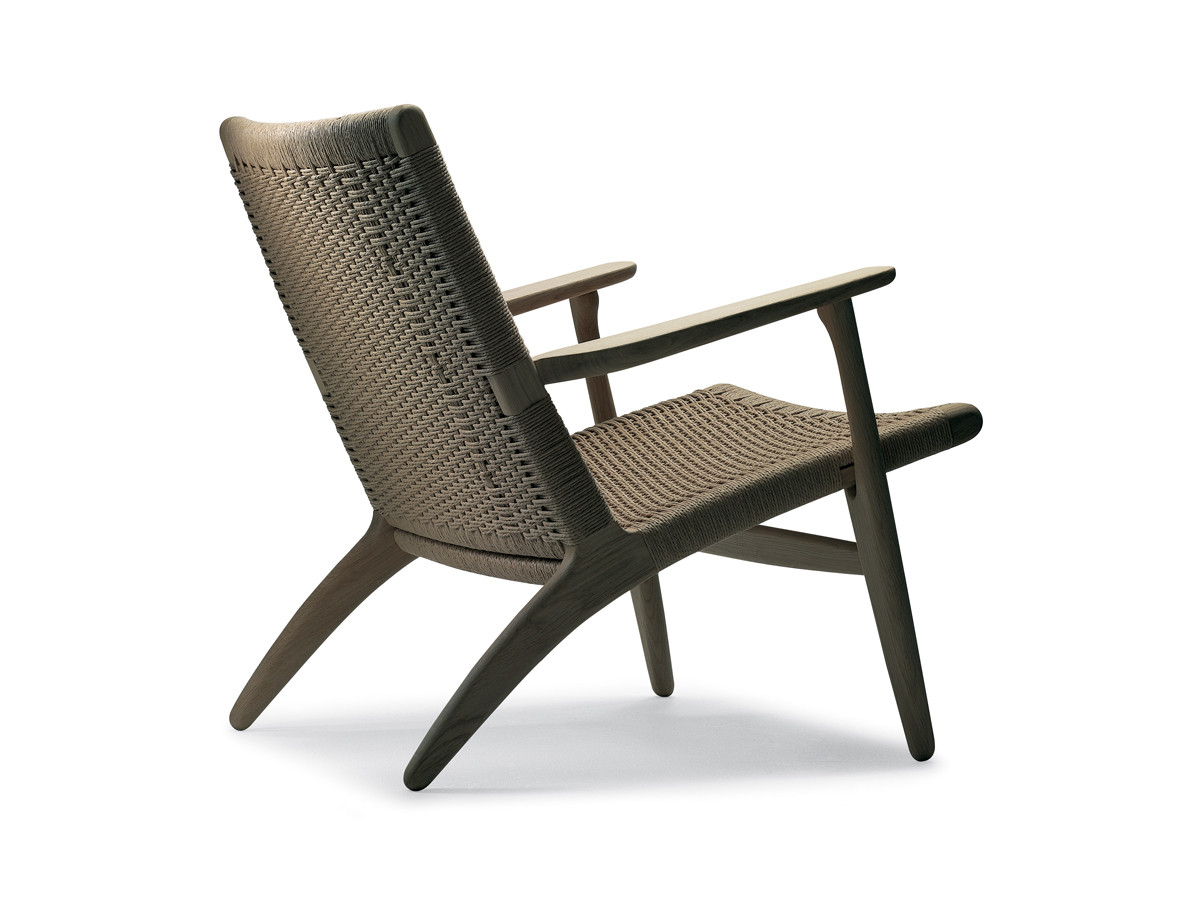 buy the carl hansen son carl hansen ch25 lounge chair at. Black Bedroom Furniture Sets. Home Design Ideas