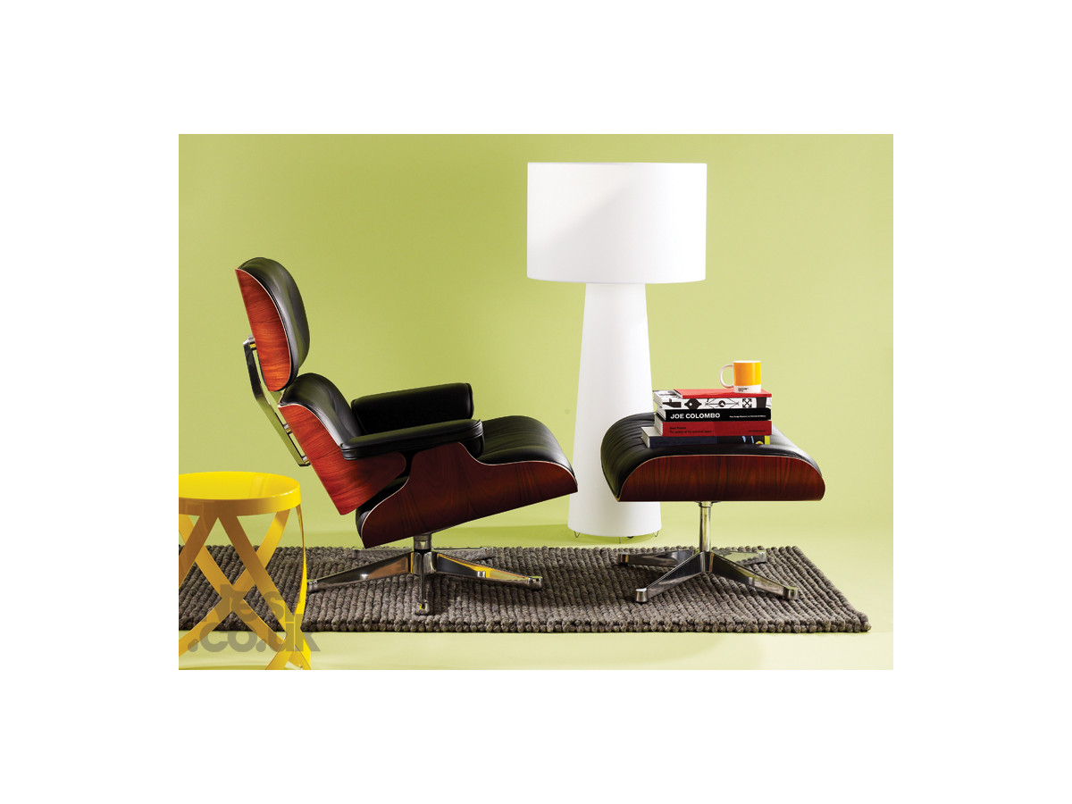 Eames lounge chair double eames lounge chair with eames for Mini eames lounge chair