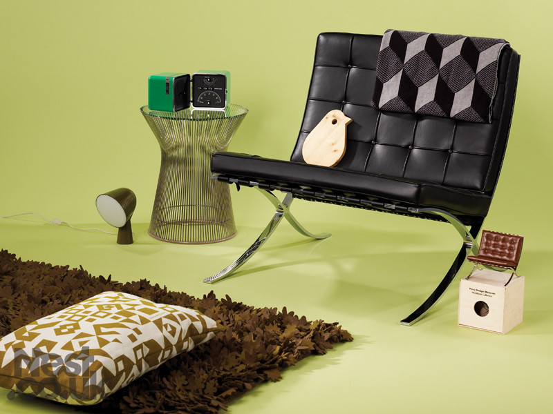 Buy The Knoll Studio Knoll Barcelona Chair At Nestcouk