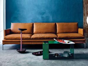 Zanotta 1330 William Three Seater Sofa