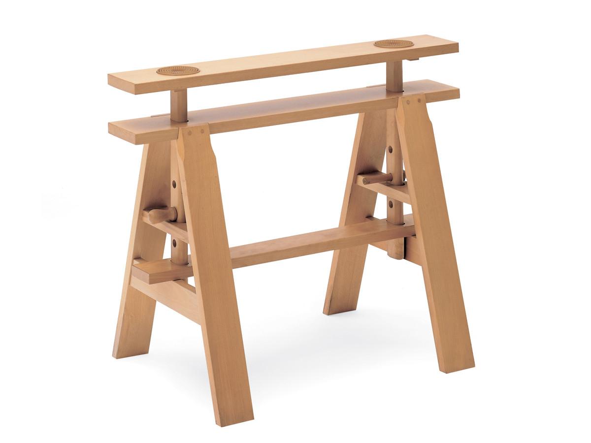 Buy the zanotta 2650 leonardo desk at - Cavalletti in legno per tavoli ...