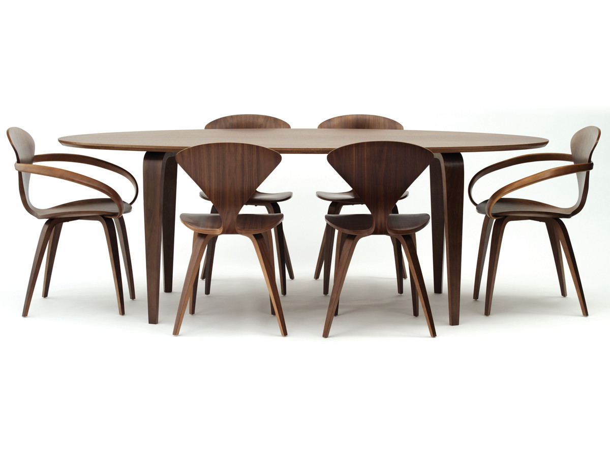 Charming Cherner Dining Table Oval