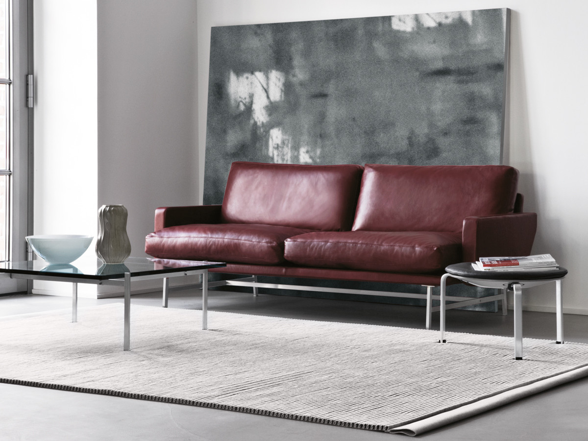 buy the fritz hansen lissoni two seater sofa at. Black Bedroom Furniture Sets. Home Design Ideas
