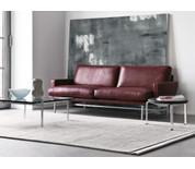 Fritz Hansen Lissoni Two Seater Sofa