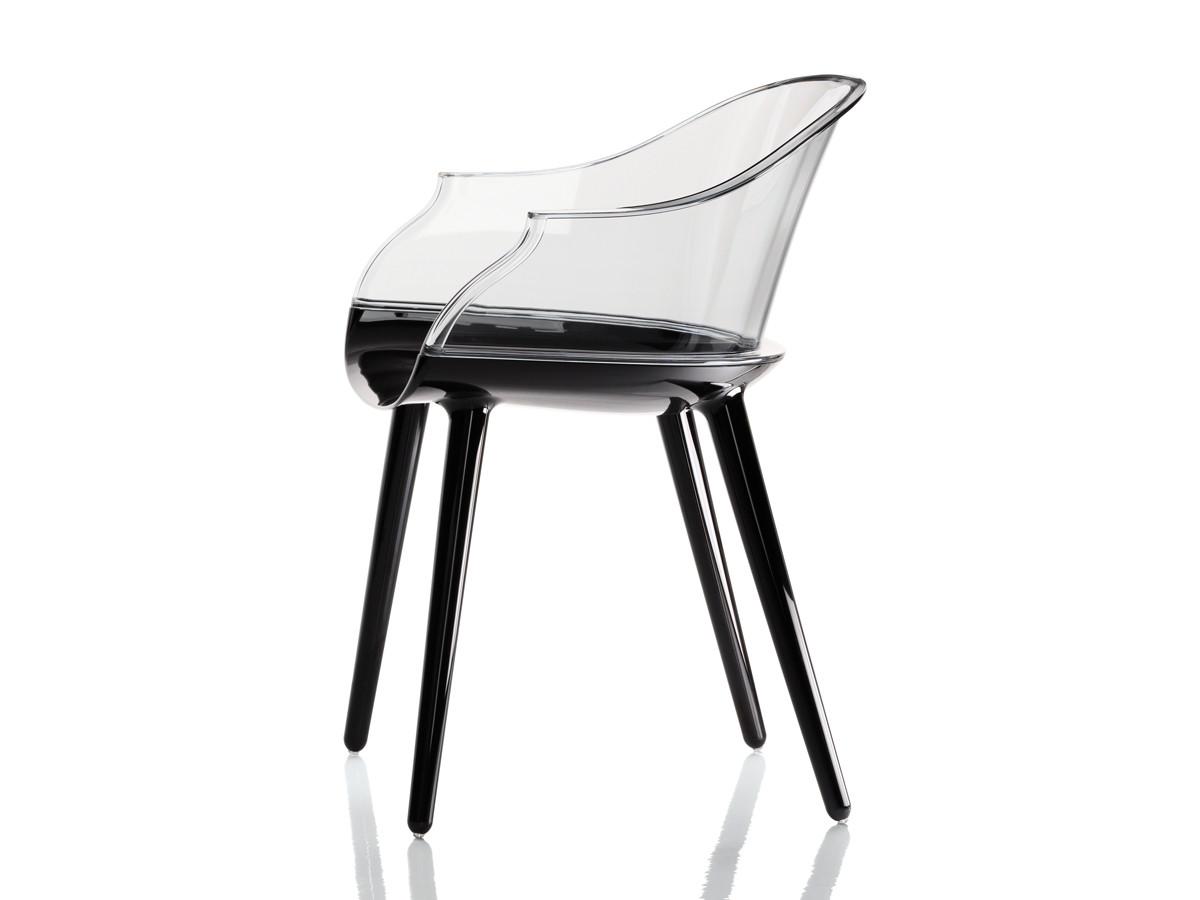 Buy the magis cyborg armchair black base at for Magis cyborg