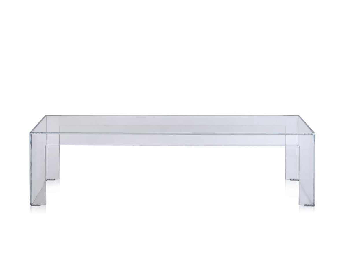 Buy The Kartell Invisible Side Table Crystal At Nestcouk - Invisible coffee table