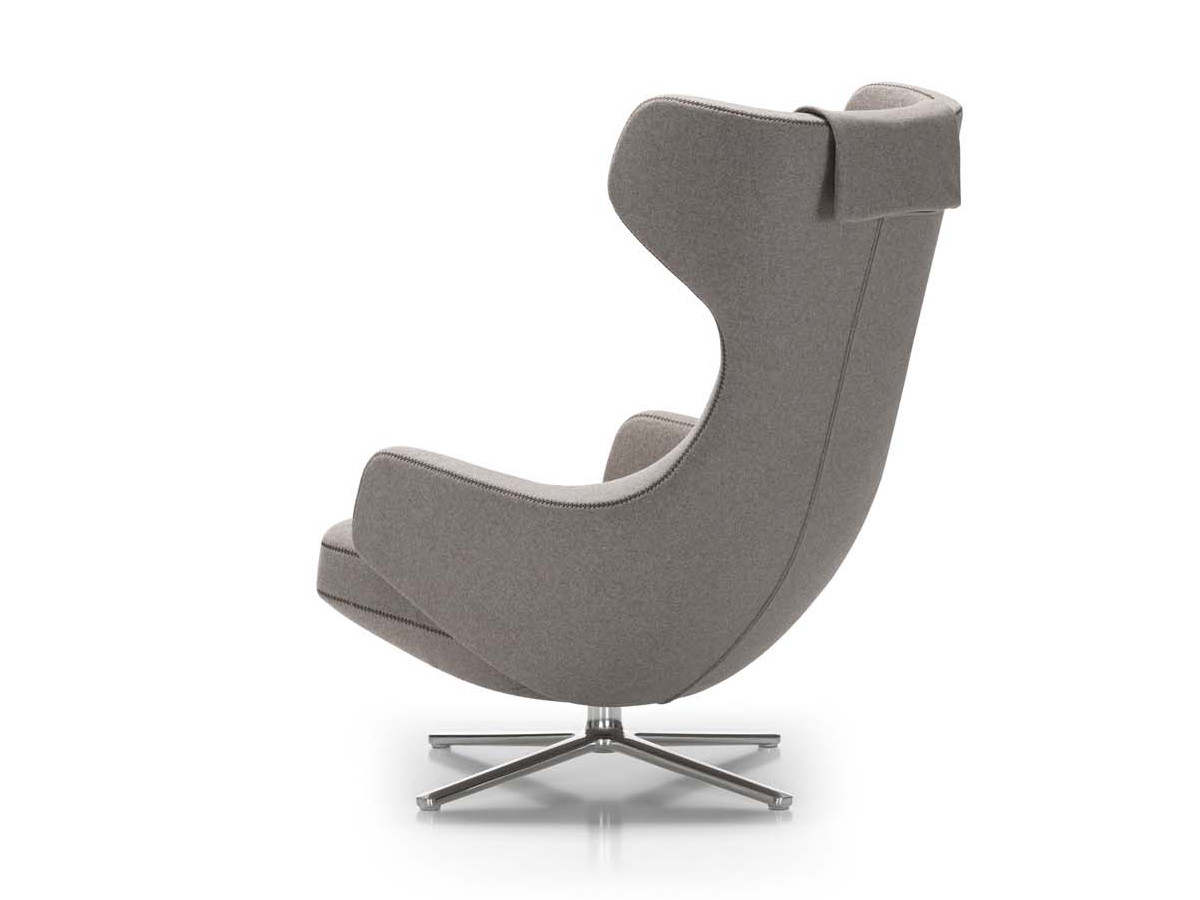 Launge Chair buy the vitra grand repos lounge chair at nest.co.uk