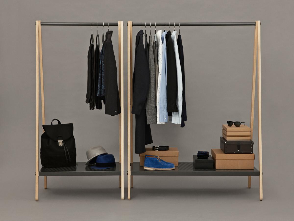 Buy The Normann Copenhagen Toj Clothes Rack Grey At Nest Co Uk