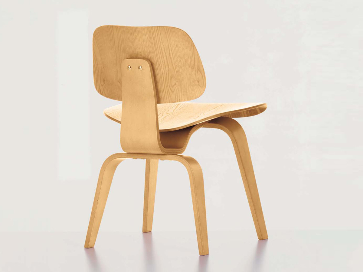 Buy the Vitra DCW Eames Plywood Chair at Nest.co.uk