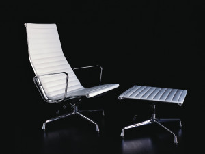 Vitra Eames EA 124 Aluminium Chair