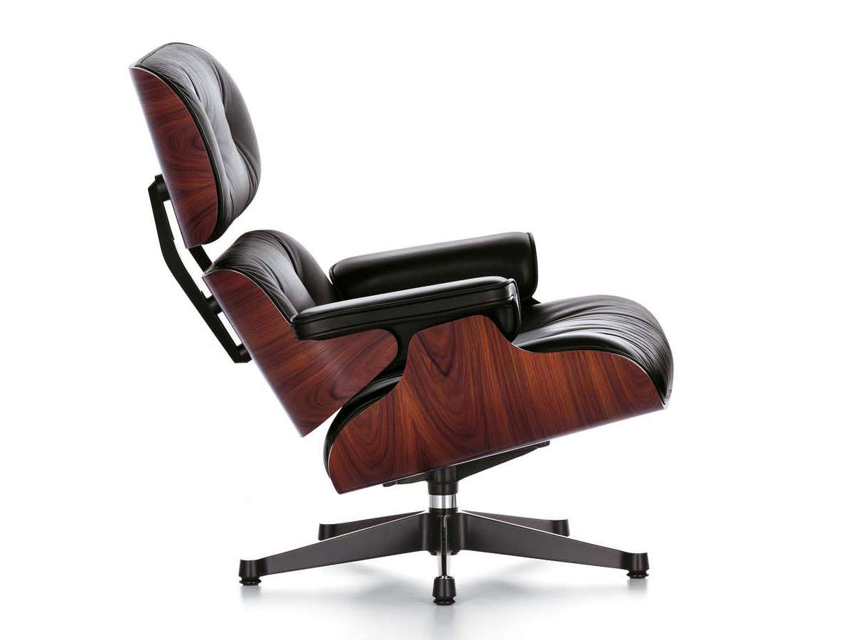 buy the vitra eames large lounge chair at. Black Bedroom Furniture Sets. Home Design Ideas
