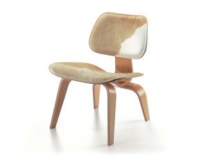 Vitra LCW Eames Calf's Skin Plywood Chair