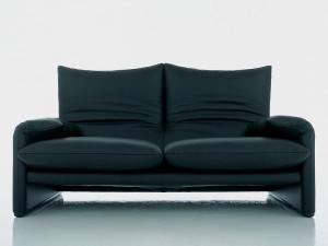 Cassina 675 Maralunga Two Seater Sofa
