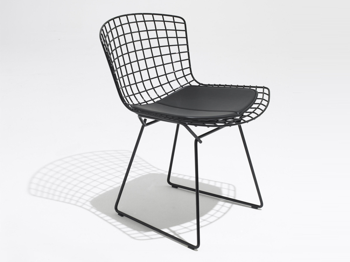 chair pad side seat fz knoll product bertoia without