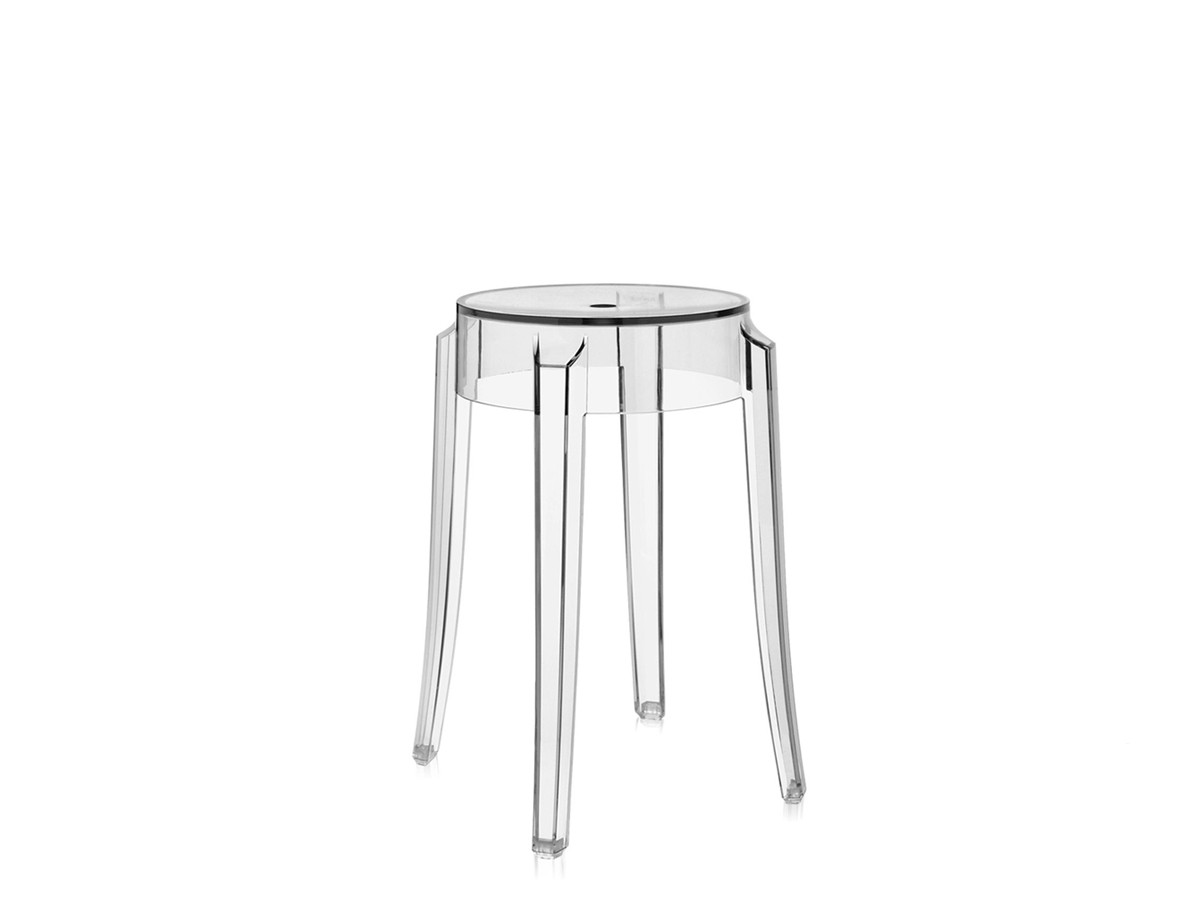 buy the kartell charles ghost bar stool crystal at nestcouk -  kartell charles ghost bar stool crystal