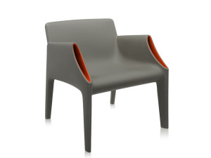 Kartell Magic Hole Armchair Grey