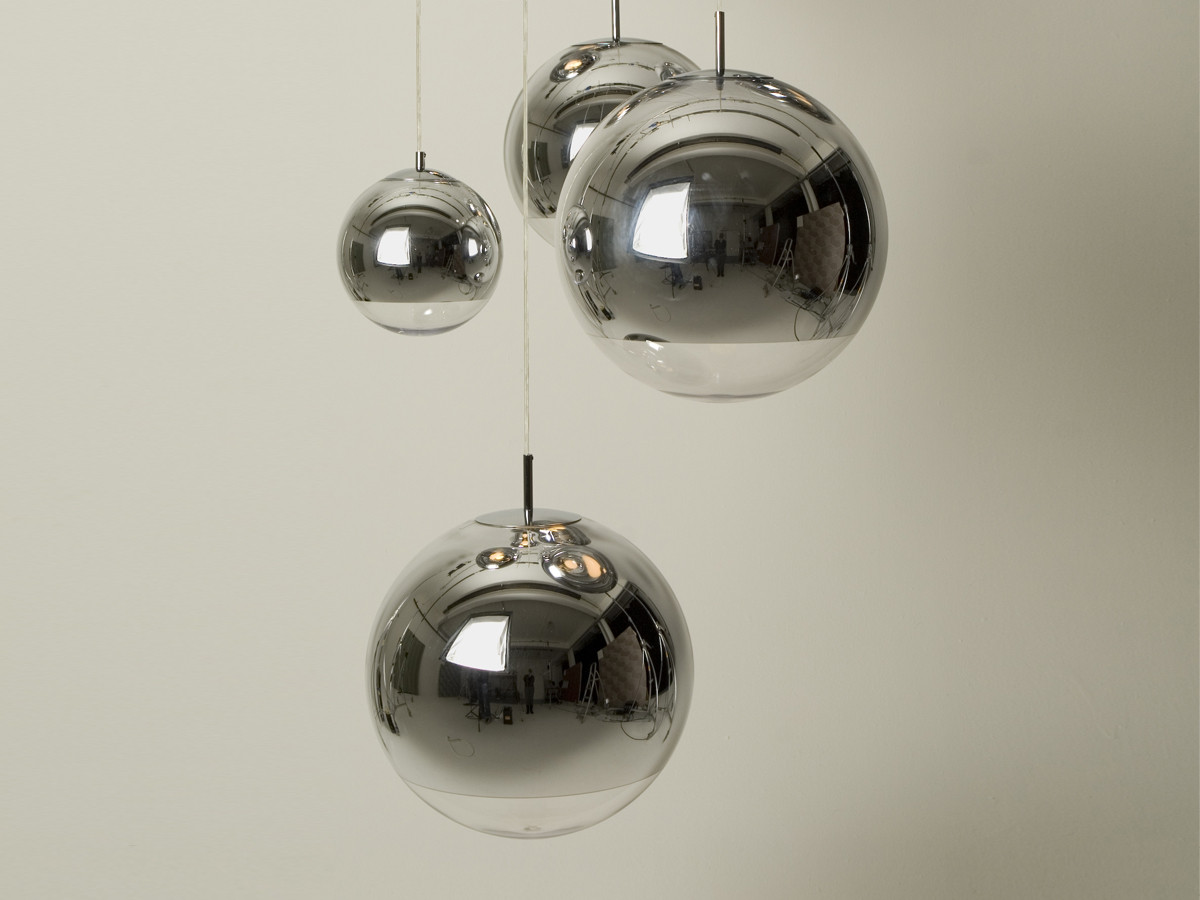 buy the tom dixon mirror ball pendant light 25cm at. Black Bedroom Furniture Sets. Home Design Ideas