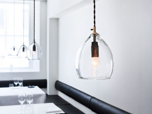 Northern Unika Pendant Light - Clear Glass