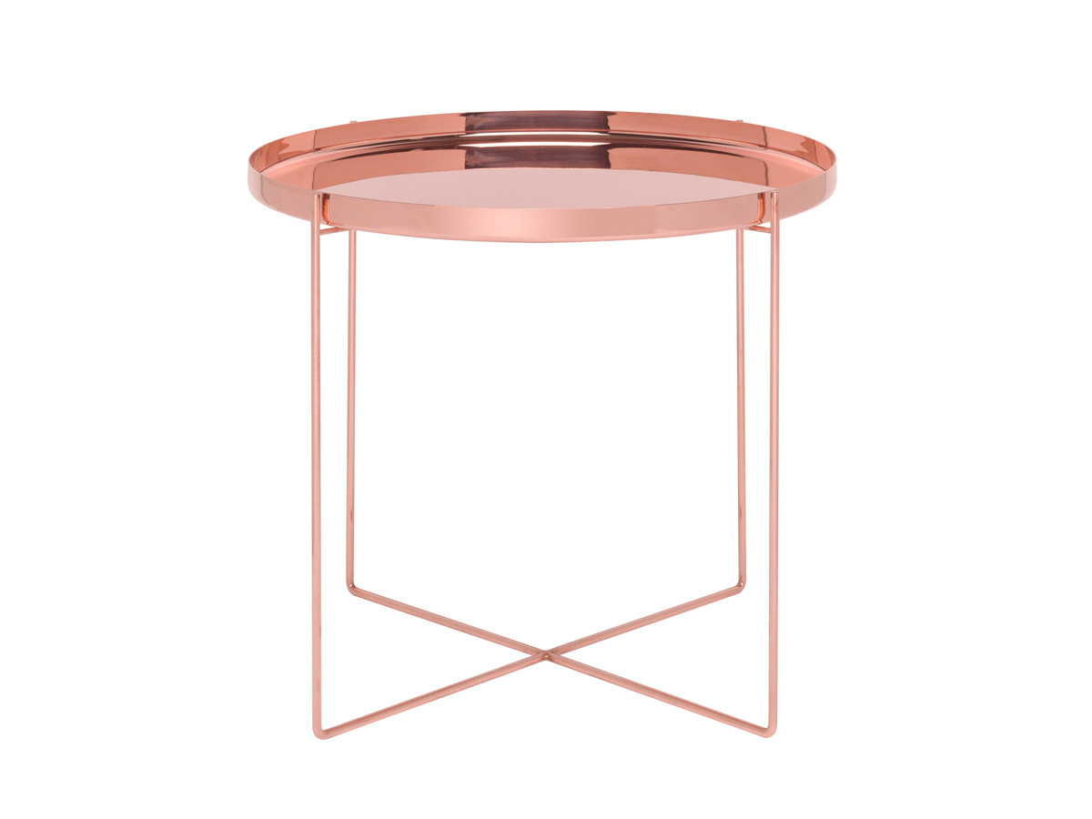 Buy the e15 cm05 habibi side table copper at for Table y copper