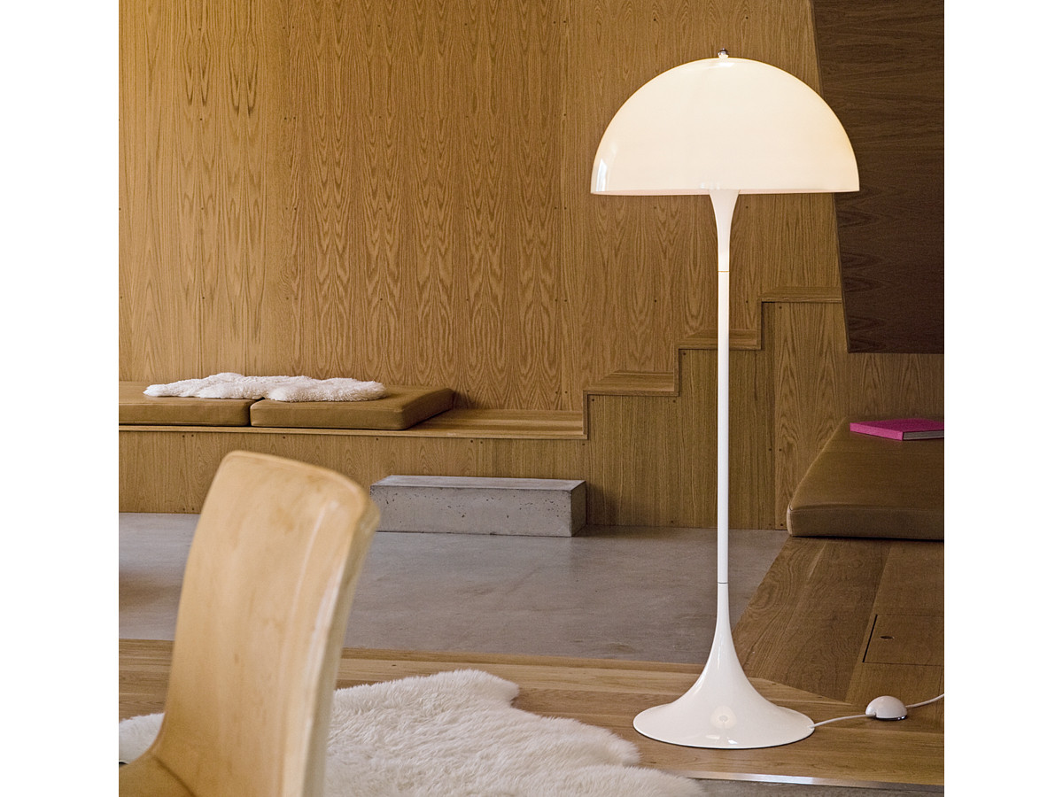 Buy the Louis Poulsen Panthella Floor Lamp at Nest.co.uk