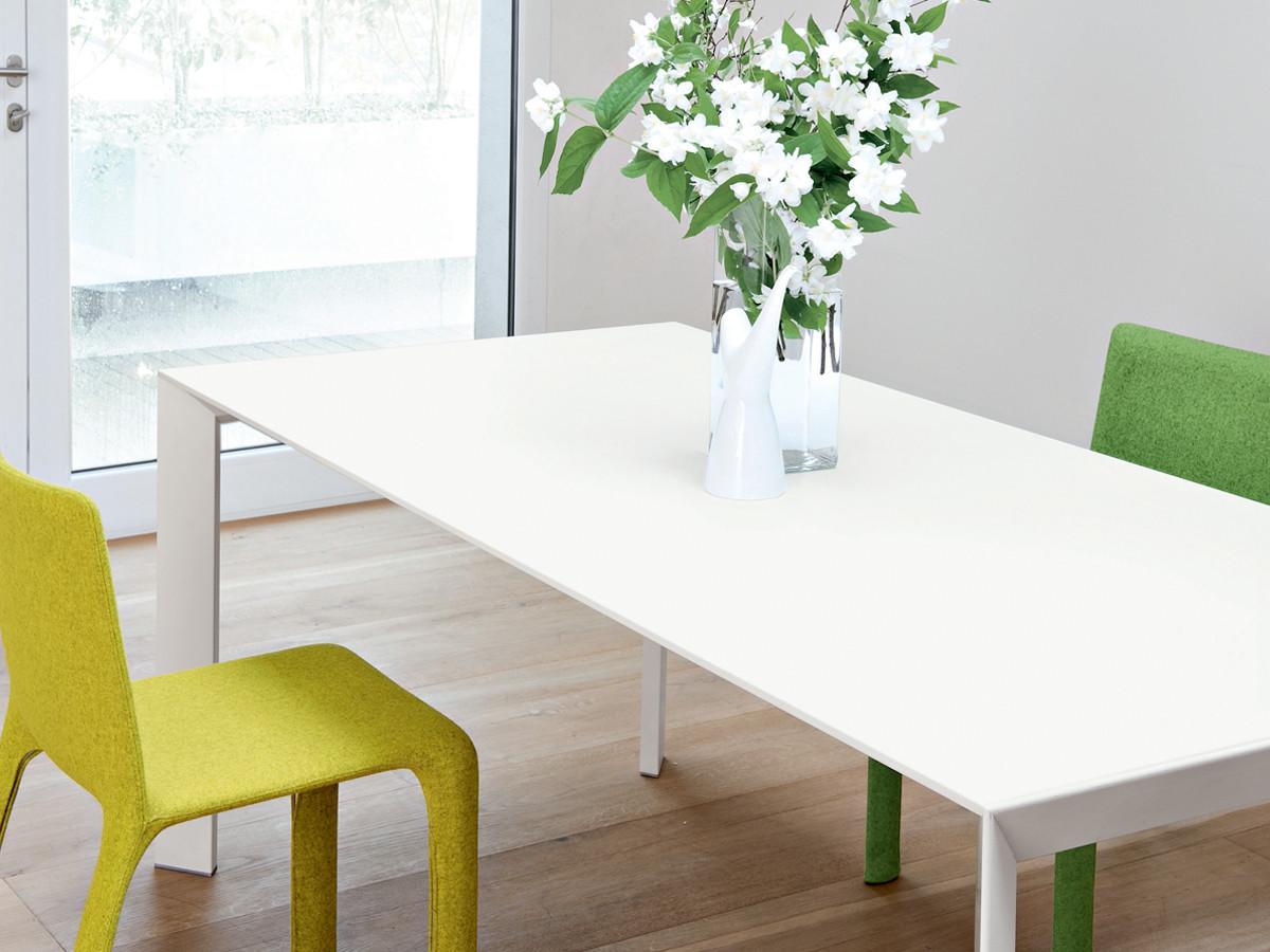 Buy the Kristalia Nori Glass Table at Nest