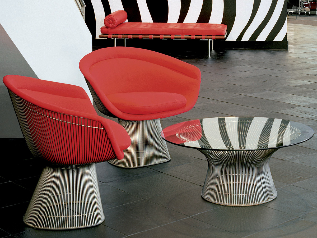 Buy The Knoll Studio Knoll Platner Coffee Table At Nest Co Uk