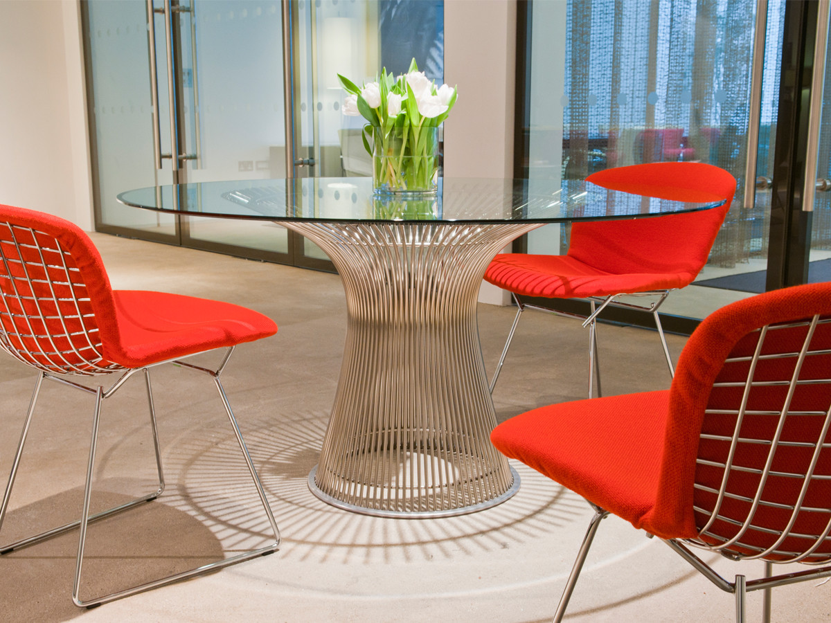 buy the knoll studio knoll platner dining table at nestcouk -  knoll platner dining table