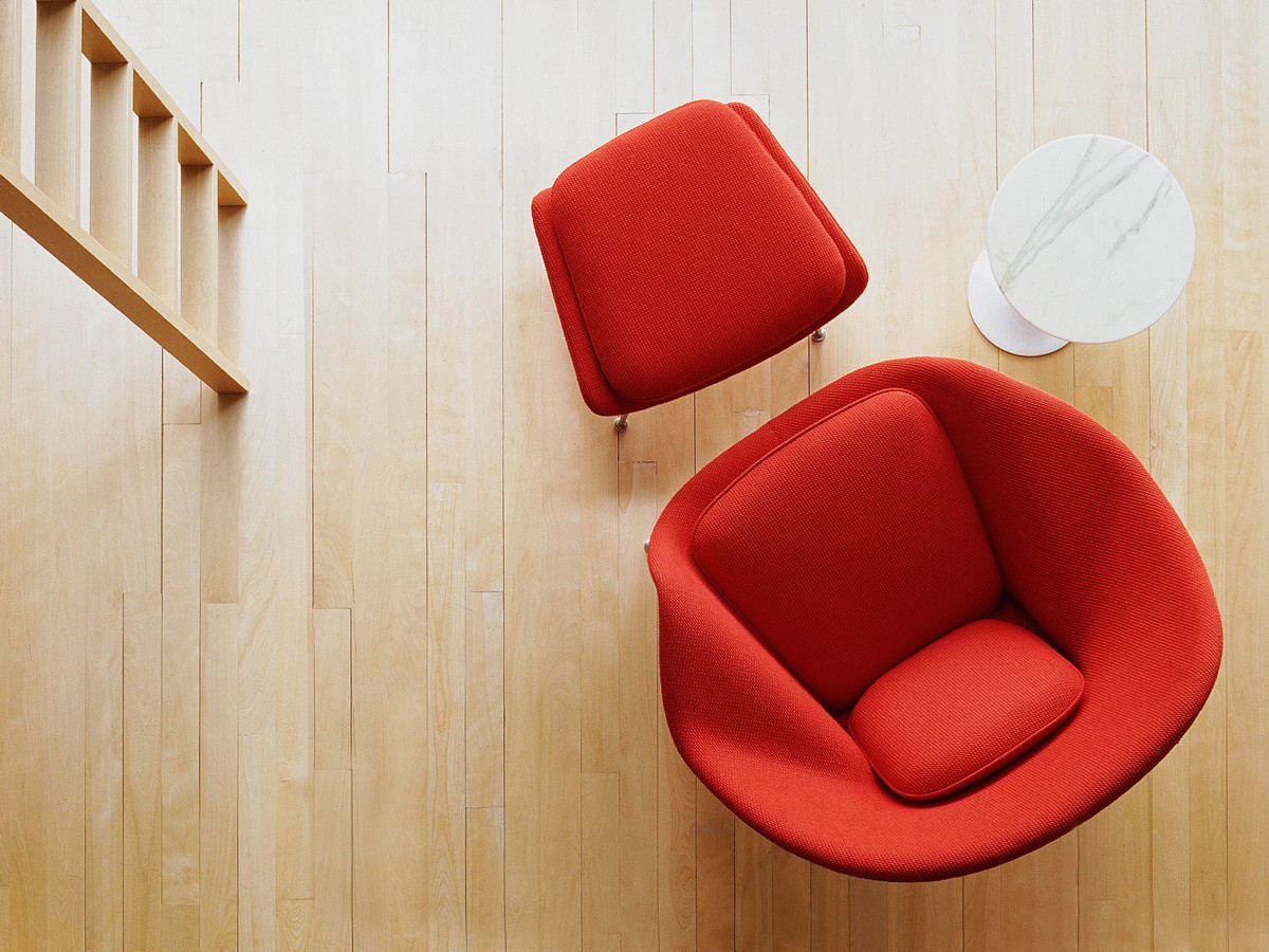 Buy The Knoll Studio Knoll Womb Chair And Ottoman At Nest