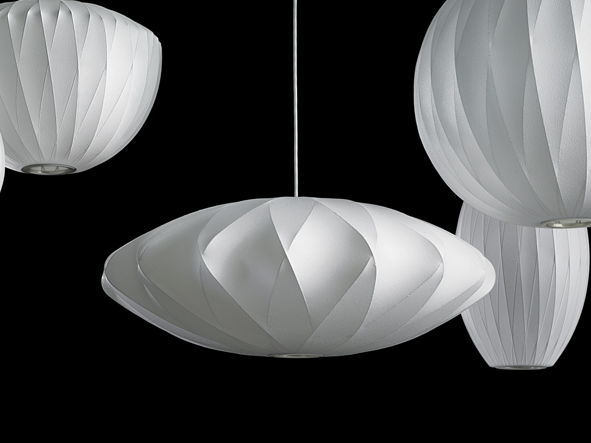 Buy The Herman Miller George Nelson Bubble Crisscross Saucer Pendant Lamp  Medium At Nest.co.uk