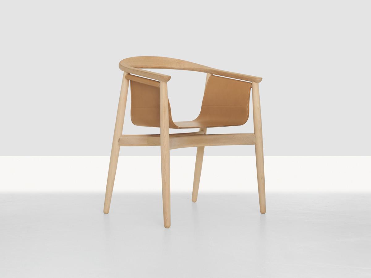 Buy the zeitraum pelle chair at for Sedia scandinava