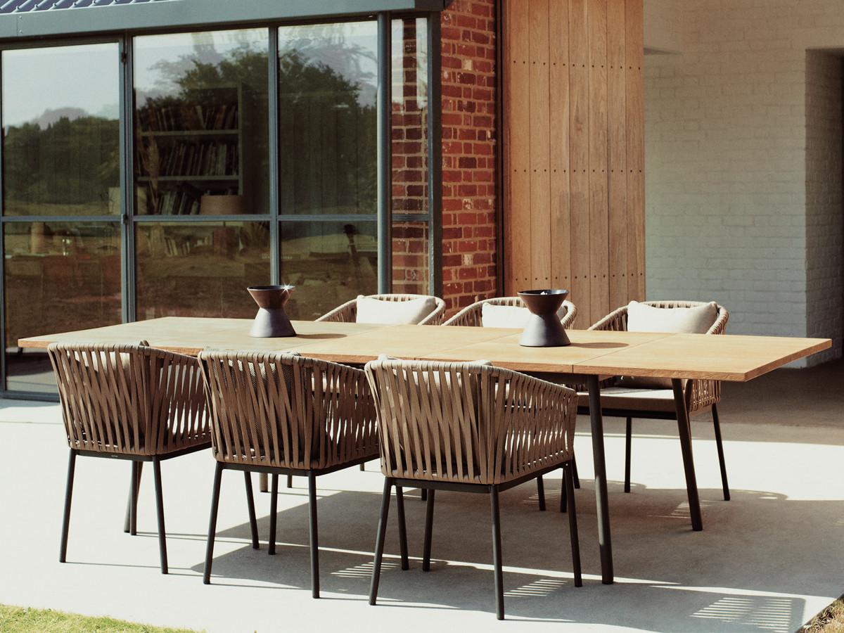 Bitta modern patio furniture by rodolfo dordoni - Kettal Bitta Dining Armchair Kettal Bitta Dining Armchair 12 Bitta Is An Outdoor Furniture Collection Designed By Rodolfo Dordoni