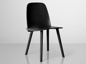 View Muuto Nerd Chair Lacquered Ash