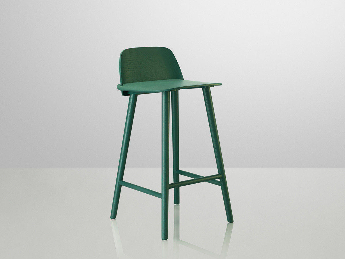 Buy the Muuto Nerd Bar Stool at Nestcouk : Seat height 65cm in green from www.nest.co.uk size 1200 x 900 jpeg 83kB