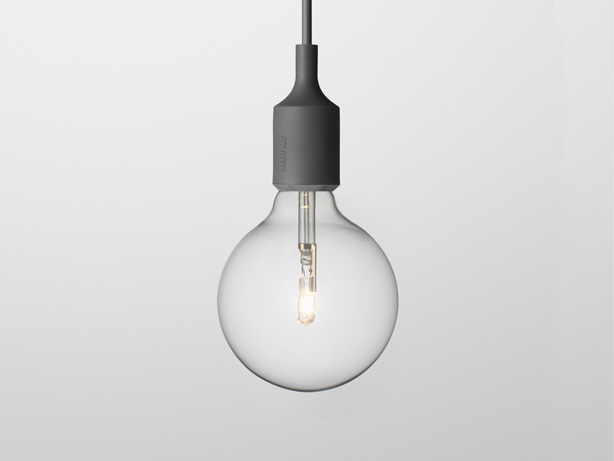 Buy the muuto e27 socket suspension light at for Suspension 4 lampes