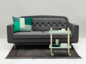 Normann Copenhagen Onkel Two Seater Sofa