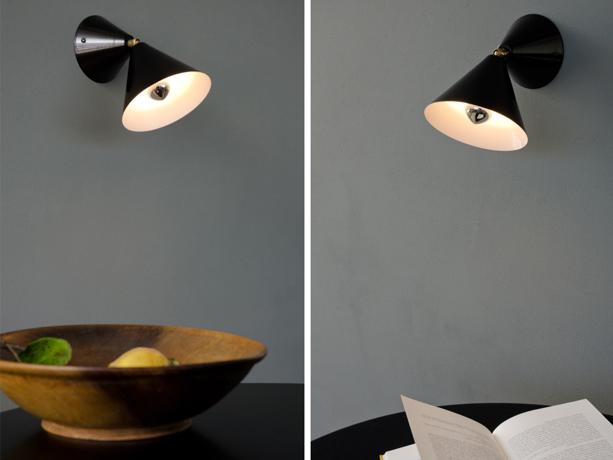 Buy the atelier areti cone wall lamp at nest mozeypictures