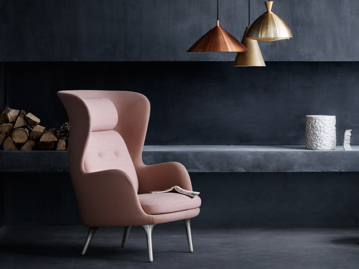 buy the fritz hansen ro easy chair at. Black Bedroom Furniture Sets. Home Design Ideas