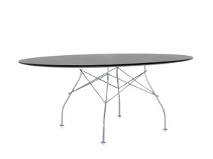 View Kartell Glossy Oval Dining Table