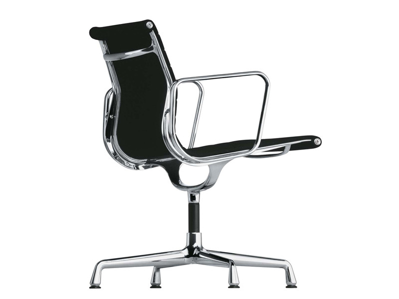 Buy the vitra eames ea 108 aluminium chair at for Eames aluminium chair replica