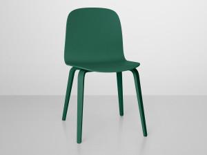 View Muuto Visu Chair Wooden Base