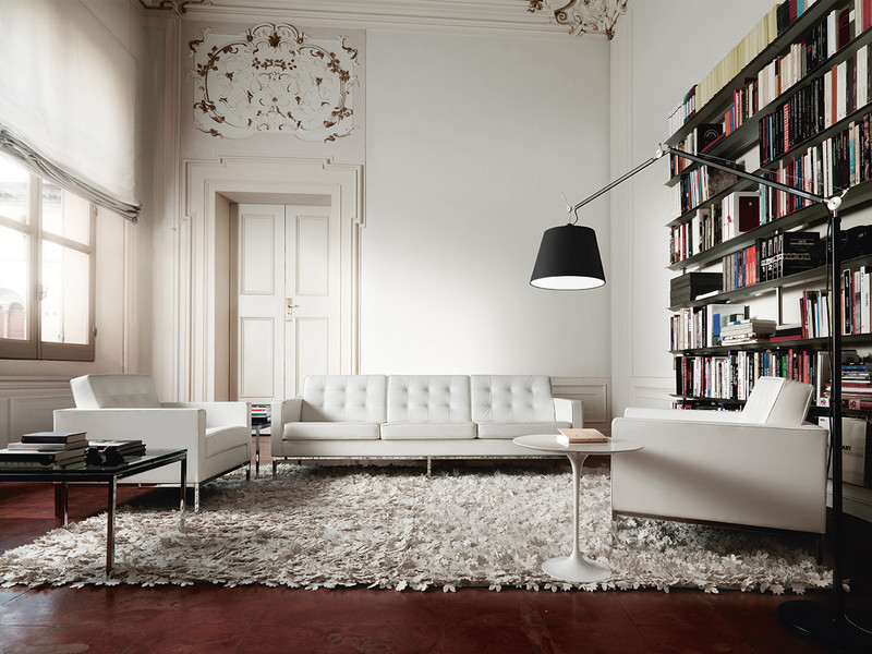 Buy The Knoll Studio Knoll Florence Knoll Three Seater Sofa At Nest.co.uk