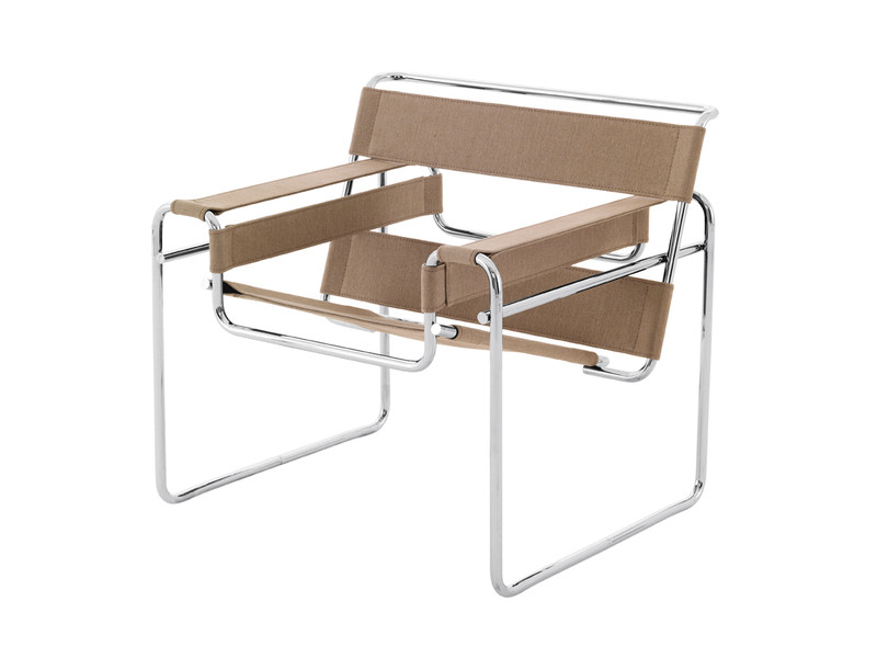 Buy the Knoll Studio Knoll Wassily Lounge Chair at Nestcouk