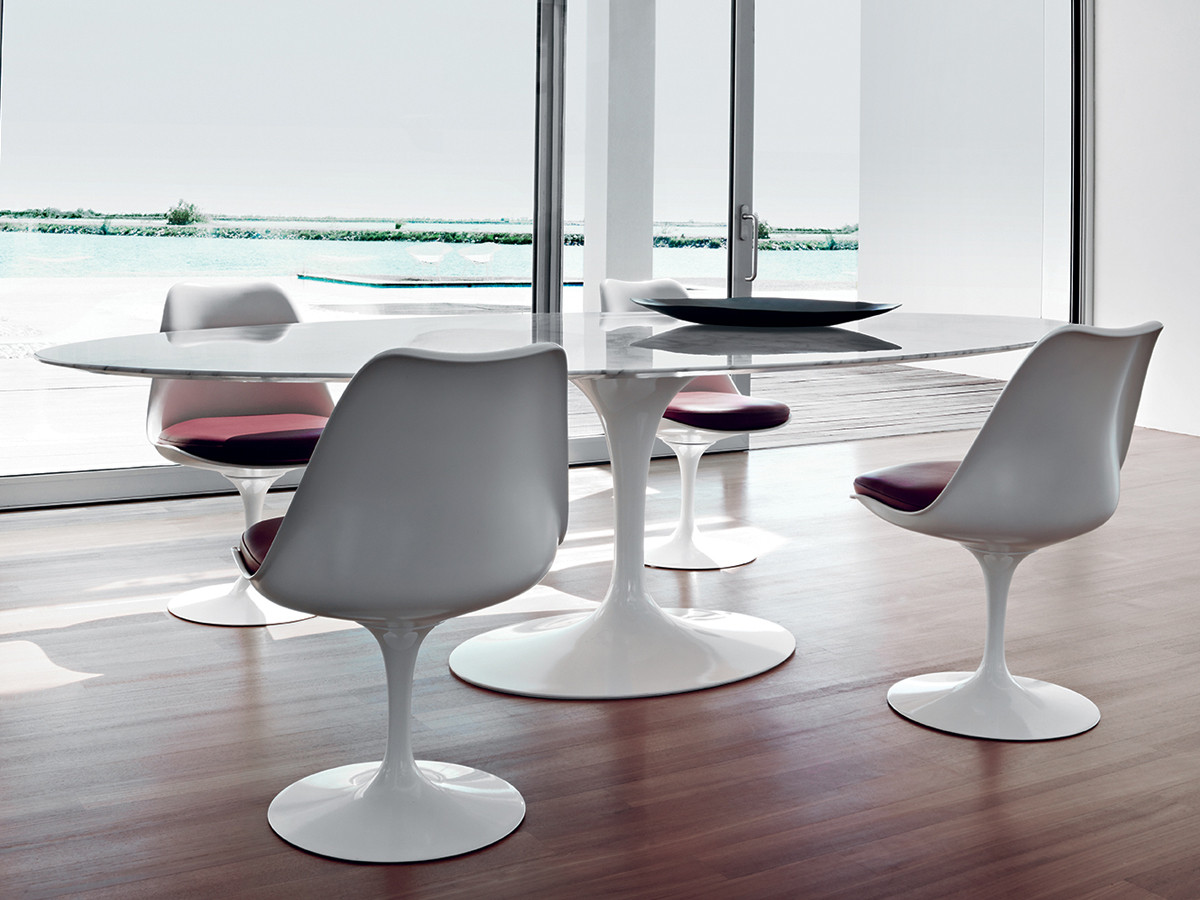 Buy the knoll studio knoll tulip chair at - Tavolo tulip knoll ...