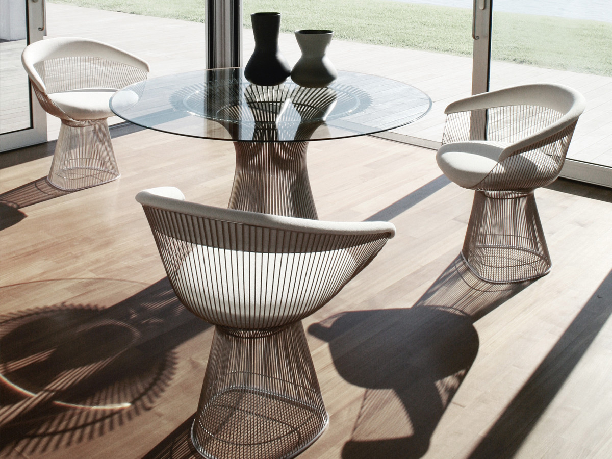 Buy the Knoll Studio Knoll Platner Dining Table at Nest.co.uk