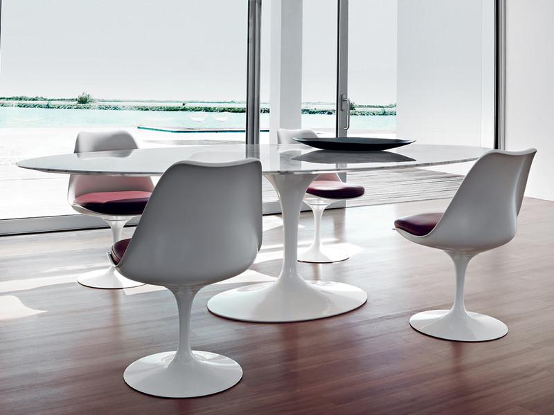 Saarinen Tafel Ovaal : Saarinen oval dining table design within reach