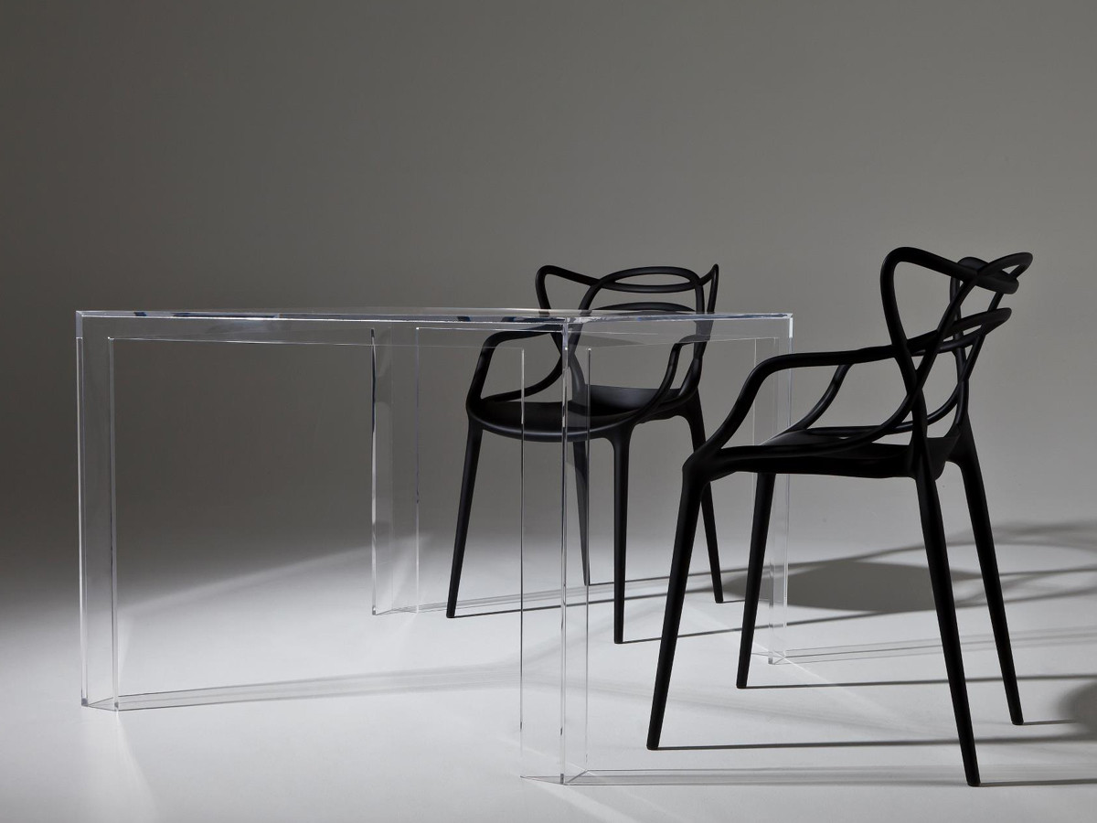 buy the kartell invisible dining table at nestcouk - kartell invisible dining table kartell invisible dining table