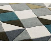 GAN Hand Tufted Mosaiek Rug Grey