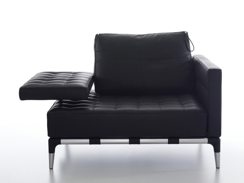 Cassina 241 Privé Armchair Black Leather